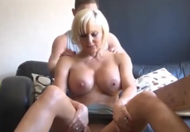 Mom Asks Son For Massage He Groped Her Tits
