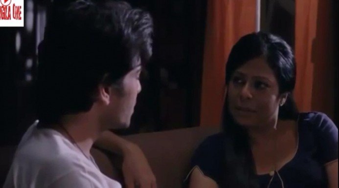 Mom and Son hot Romance in Bengali Movie
